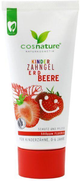 Cosnature Kinder Zahngel Erdbeere 60 ml Zahnpasta