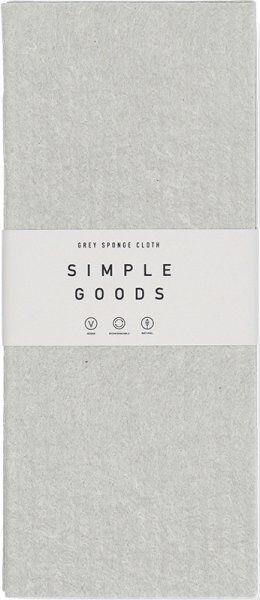 Simple Goods Sponge Cloth Grey 1 Stk. Reinigungstuch