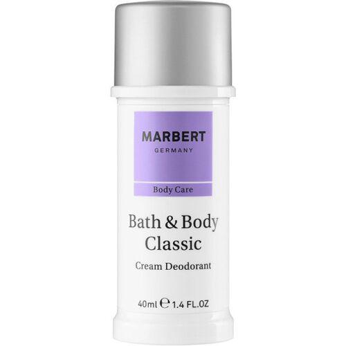 Marbert B&B Classic Cream Deodorant 40 ml Deodorant Creme