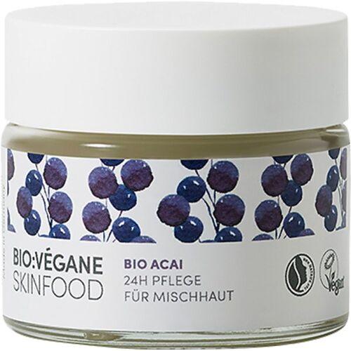 Bio:Végane Skinfood Bio:Végane Skinfood Bio Acai 24h Pflege für Mischhaut 50 ml Gesichtsc