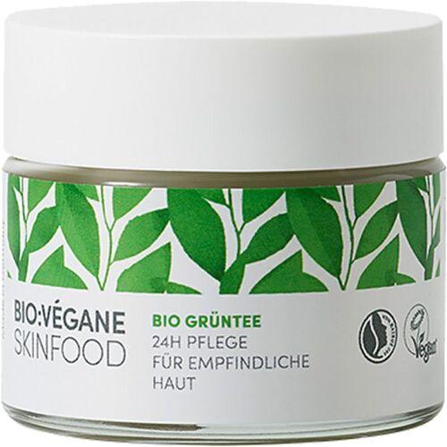 Bio:Végane Skinfood Bio:Végane Skinfood Bio Grüntee 24h Pflege für empfindliche Haut 50 m