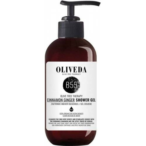Oliveda B55 Pflegedusche Zimtrinde Ingwer - Relaxing 250 ml Duschgel