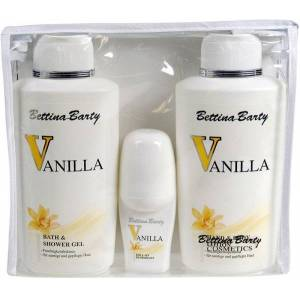Bettina Barty Vanilla (Bath & Duschgel 500 ml, Deo 50 ml) Körperpfleg