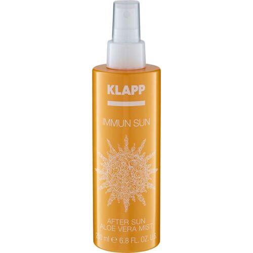 Klapp Cosmetics Klapp Immun Sun After Sun Aloe Vera Mist 200 ml After Sun Spray