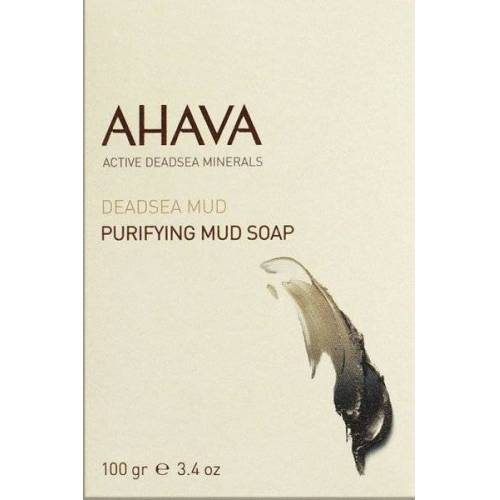 Ahava Deadsea Mud Purifying Mud Soap 100 g Stückseife