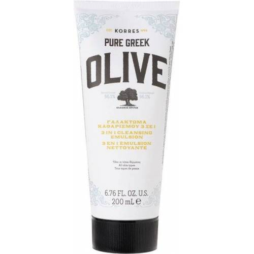 Korres Olive 3 In 1 Cleansing Emulsion 200 ml Reinigungsemulsion