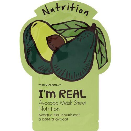 TonyMoly I'm Real Avocado Sheet Mask 1 Stk. Tuchmaske