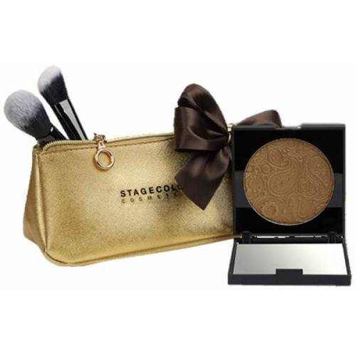 Stagecolor Cosmetics Aktion - Stagecolor Deluxe Bronzing Powder Xmas Set Pinselset