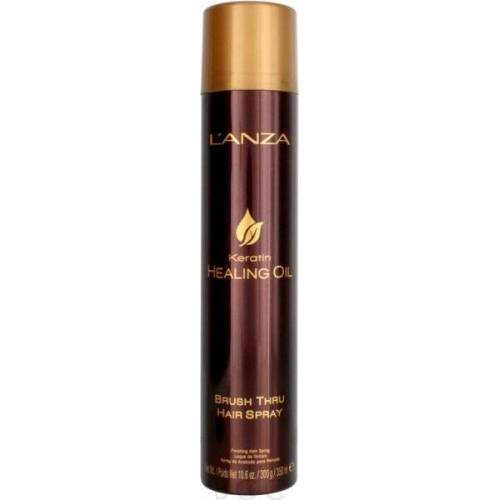 Lanza Keratin Healing Oil Brush Thru Hair Spray 350 ml Haarspray