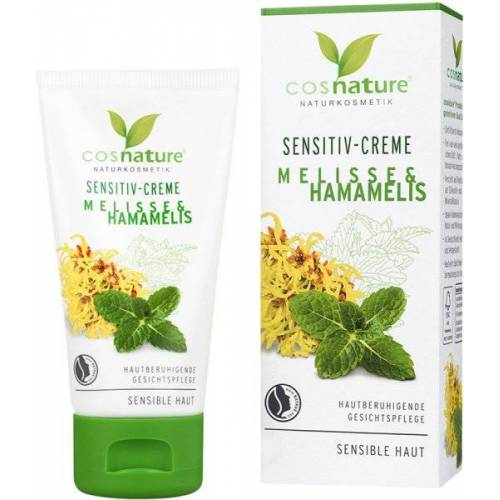 Cosnature Sensitive-Creme Melisse & Hamamelis 50 ml Gesichtscreme