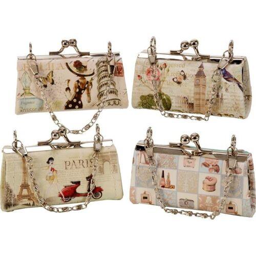 Accentra Handtasche mit Tragekette, Vintage Design