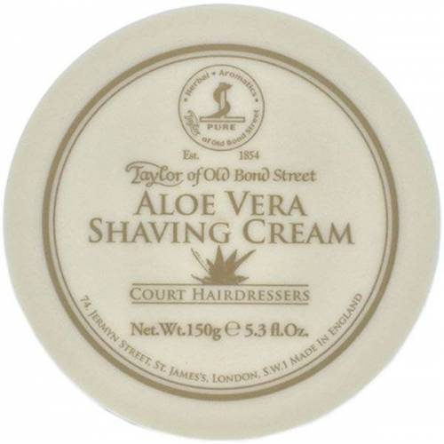 Taylor of Old Bond Street Aloe Vera Shaving Cream 150 g Rasiercreme