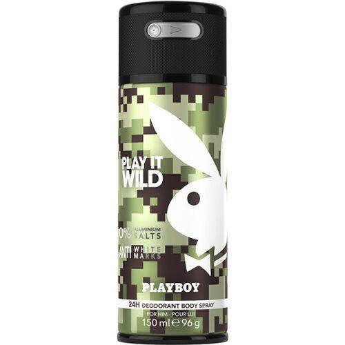 Playboy Play It Wild Men Deo Body Spray 150 ml Deodorant Spray