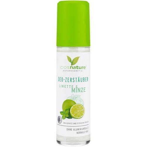 Cosnature Deodorant-Zerstäuber Limette & Minze 75 ml Deodorant Spray