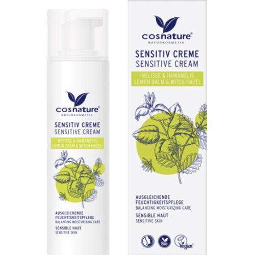 Cosnature Sensitive-Creme Melisse & Hamamelis 50 ml Gesichtscreme