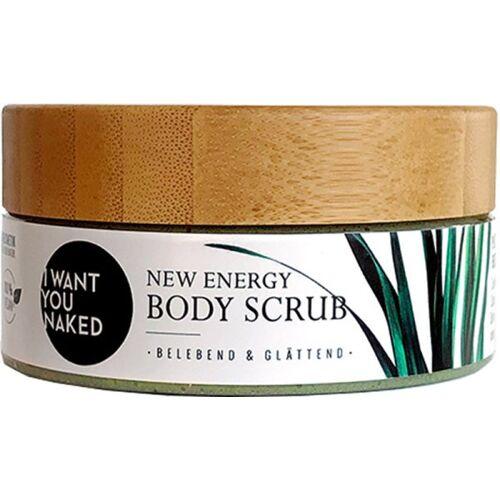 "I Want You Naked New Energy Scrub Körperpeeling ""Zitronengras & Aloe"