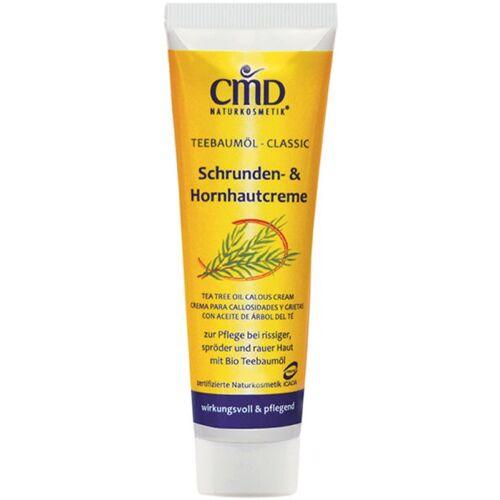 CMD Naturkosmetik Teebaumöl Schrunden- & Hornhautcreme 50 ml Fußcreme