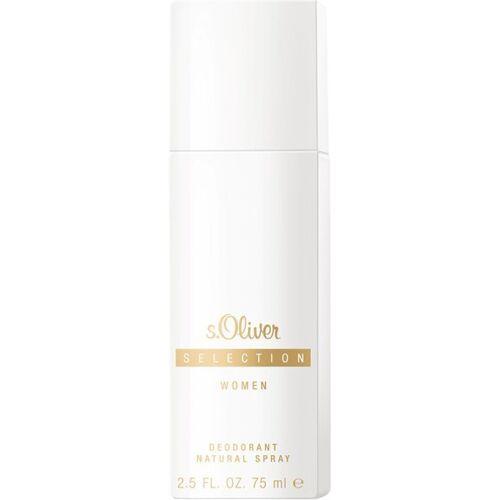 s.Oliver Selection women Deodorant Deo Natural Spray 75 ml Deodorant