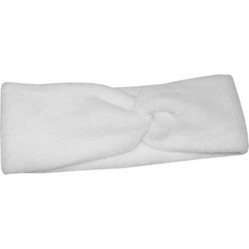 Fantasia Kosmetik-Haarband, Baumwoll- Stretch, weiß, Breite 8 cm Fris