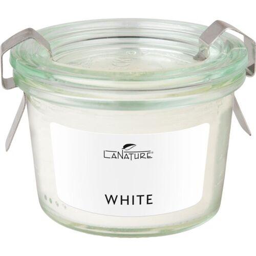 LaNature Duftkerze im Weckglas White
