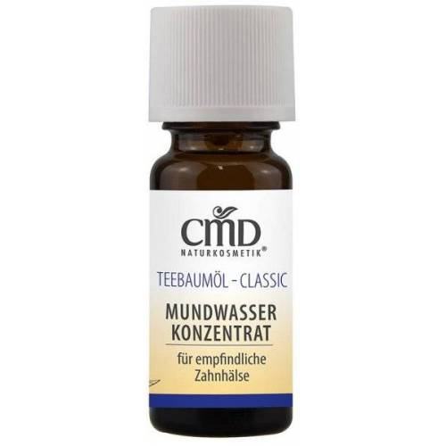 CMD Naturkosmetik Teebaumöl Mundwasser 10 ml Mundspülung