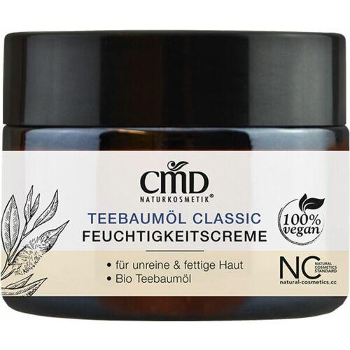 CMD Naturkosmetik Teebaumöl Feuchtigkeitscreme 50 ml Gesichtscreme