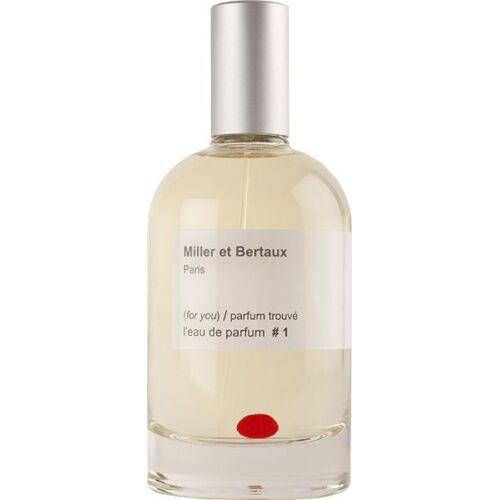 Miller et Bertaux # 1 (for you) / parfum trouvé Eau de Parfum (EdP) 1