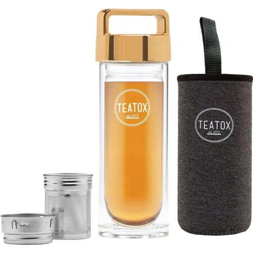Teatox Set - Teatox Thermo Flaschen Pack Gold Tee-Zubehör