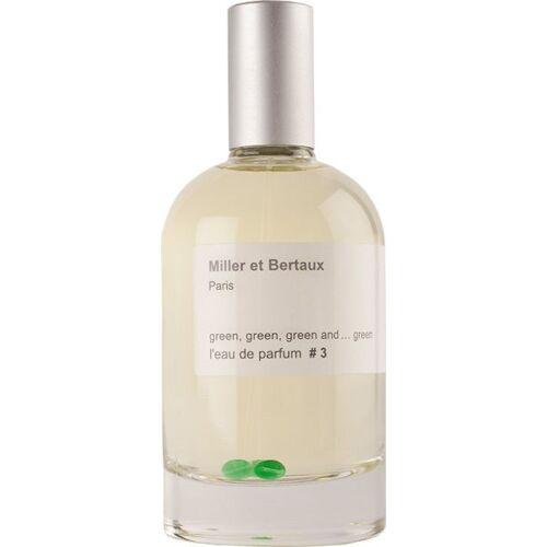 Miller et Bertaux # 3 green green green and ... green Eau de Parfum (