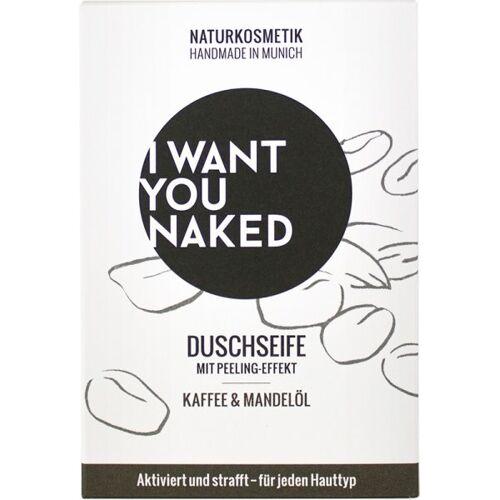 I Want You Naked Duschseife Kaffee & Mandelöl 100 g Badeseife
