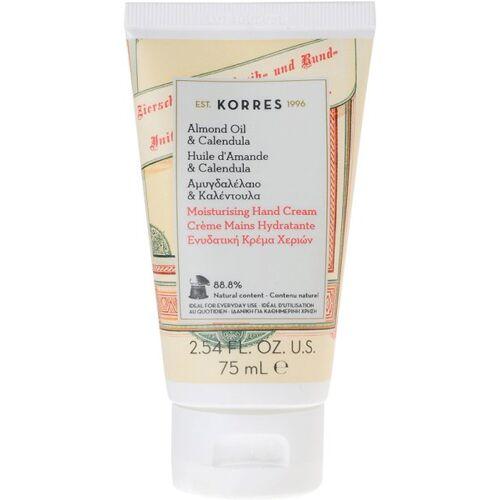 Korres Almond Oil & Calendula Moisturising Hand Cream 75 ml Handcreme