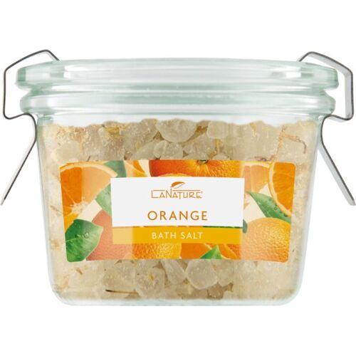 LaNature Badesalz im Weckglas Orange 70 g
