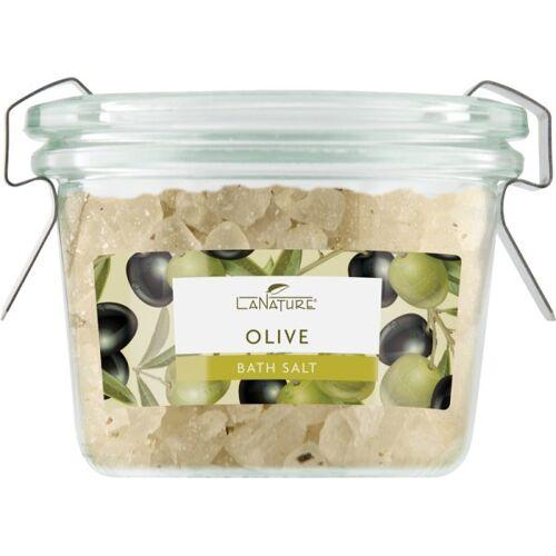 LaNature Badesalz im Weckglas Olive 70 g