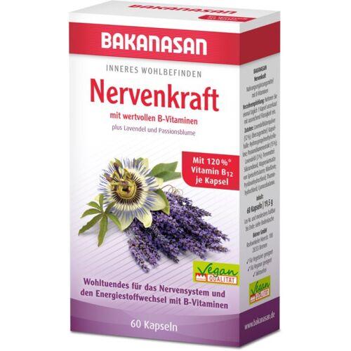 Bakanasan Nervenkraft plus Lavendel und Passionsblume Kapseln 60 Stk.