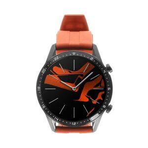 Huawei Watch GT2 46mm schwarz mit Sportarmband orange  orange
