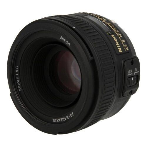 Nikon Nikkor 50mm F1.8 SWM AF-S Aspherical G Objektiv Schwarz refurbished