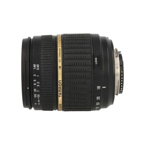 Tamron AF B003 18-270mm f3.5-6.3 Di-II LD VC Aspherical IF Objektiv für Nikon Schwarz