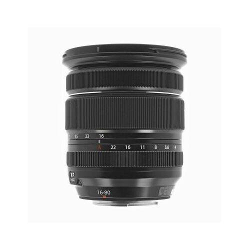 Fujifilm 16-80mm 1:4.0 Fujinon XF R OIS WR schwarz