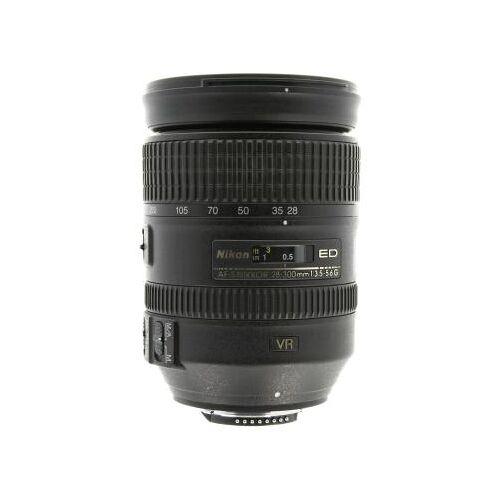Nikon Nikkor 28-300mm F3.5-5.6 SWM AF-S Aspherical VR G ED Objektiv Schwarz