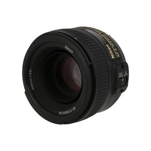 Nikon Nikkor 50mm F1.8 SWM AF-S Aspherical G Objektiv Schwarz