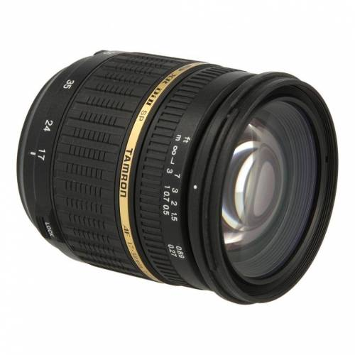 Tamron SP B005 17-50mm F2.8 AF Di-II LD XR Aspherical VC IF Objektiv für Nikon Schwarz refurbished