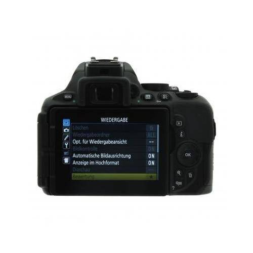 Nikon D5600 Schwarz