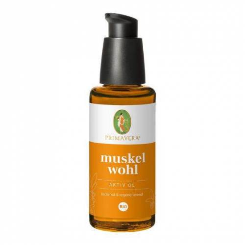 Primavera Muskel  Aktiv Öl bio 50ml