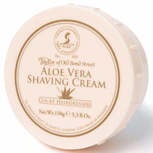 Taylor of Old Bond Street Aloe Vera Shaving Cream Bowl 150g