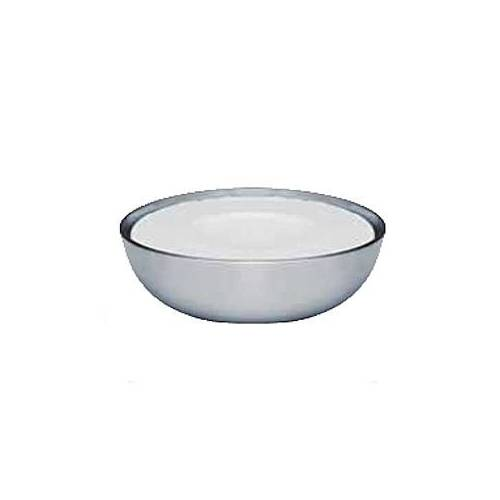 Becker Seifenschale ohne Seife rostfrei 10cm 1 Stück