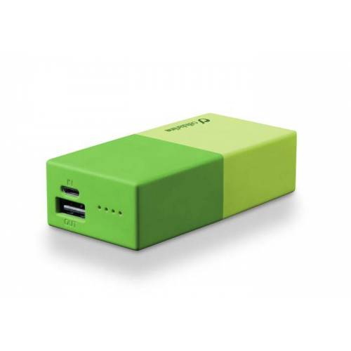 Cellular Line Powerbank 5000 Universal Cellularline 1 Green Charger