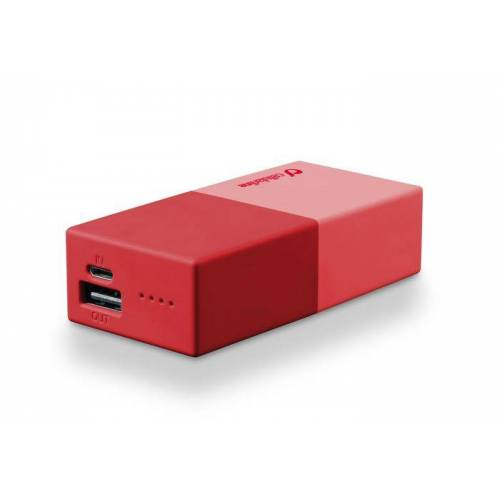 Cellular Line Powerbank 5000 Universal Cellularline 1 Charger Red