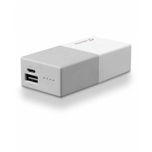 Cellular Line Powerbank 5000 Universal Cellularline 1 Battery Charger White