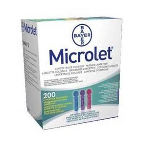 ASCENSIA DIABETES CARE ITALY Bayer MICROLET Lanzetten 200 Hande