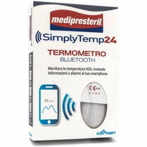 CORMAN SpA SimplyTemp 24 Bluetooth Thermometer
